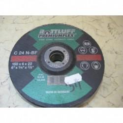 Brusný kotouč - ROTTLUFF C 24 N-BF, 150 x 6 x 22