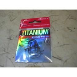 HÁČKY PRO CARP TITANIUM CHINU 115 BN